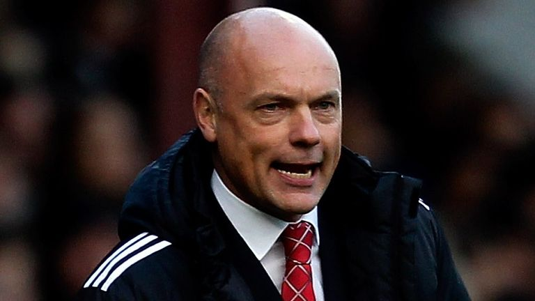 Uwe Rosler: Taking charge this weekend