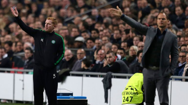 Frank de Boer: Saw Ajax beat Neil Lennon's side