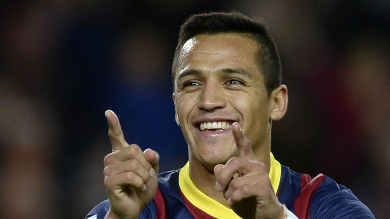 Alexis Sanchez: Barcelona forward critical of England