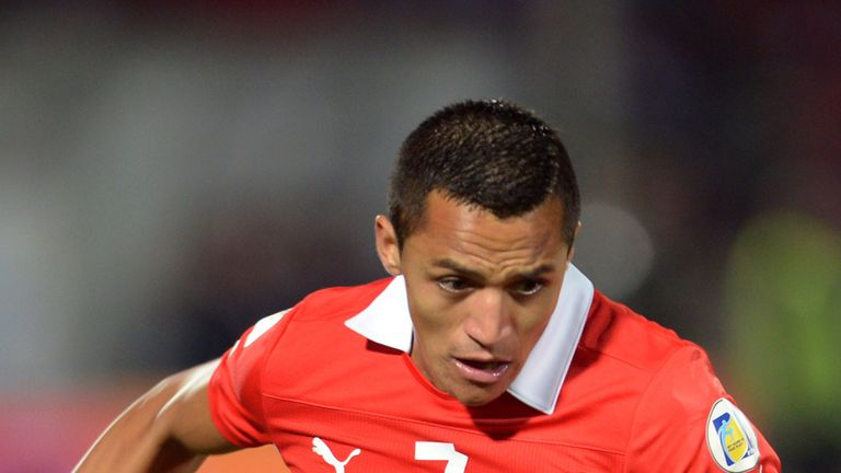 Alexis Sanchez: Just one of a number of Chile stars to check out at Wembley