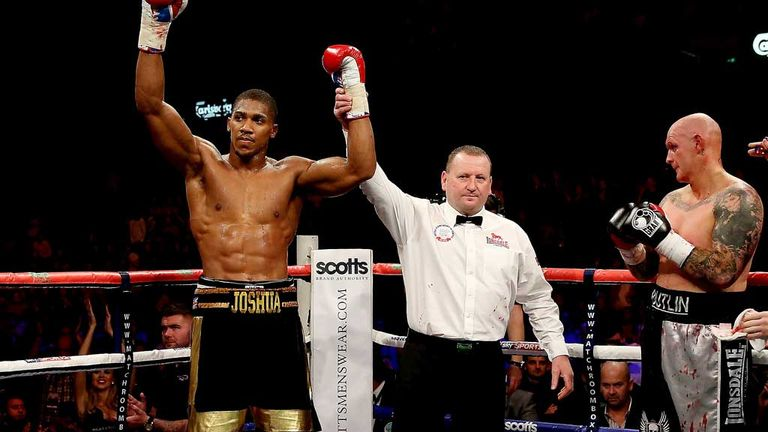 Anthony Joshua: Stopped Paul Butlin in two rounds last month