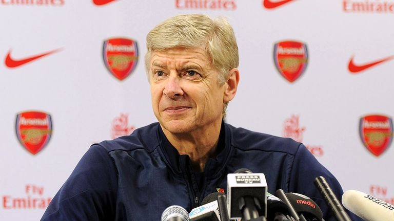 Arsene Wenger: Happy with the options at his disposal as Arsenal's forwards return to fitness