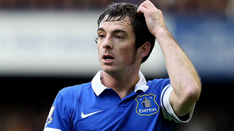 Leighton Baines: Five games out with broken toe