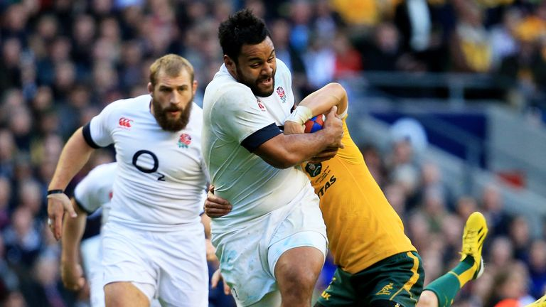 Vunipola: on the charge for England
