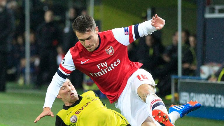 Aaron Ramsey: Malky Mackay is a huge admirer of the midfielder