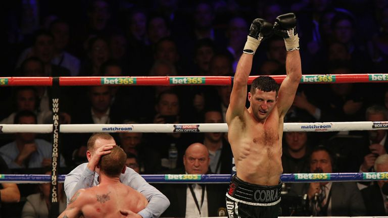 Carl Froch: Felt he had a 'free shot' on George Groves in round nine