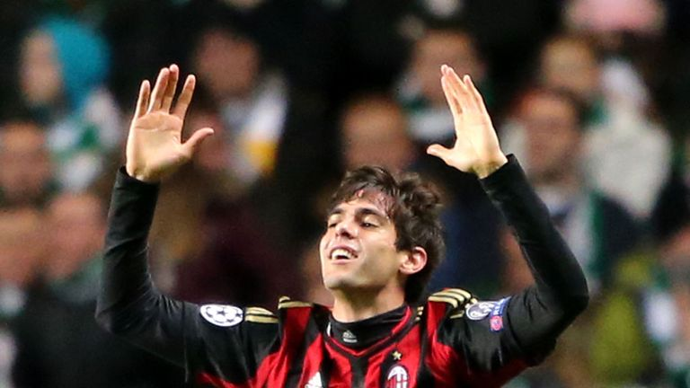 Kaka: Still has a chance of making Brazil's World Cup squad