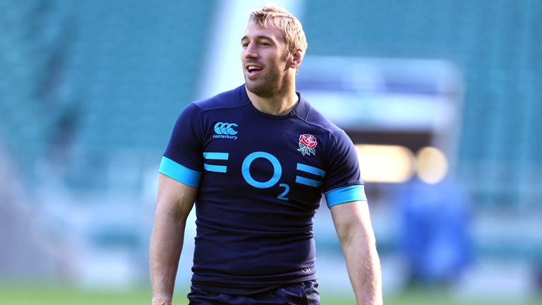 Chris Robshaw will lead England into battle at Twickenham