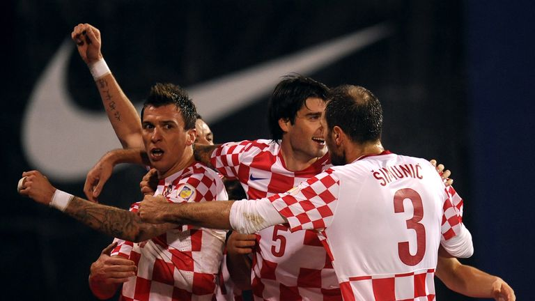 Mario Mandzukic: Celebrates his opener