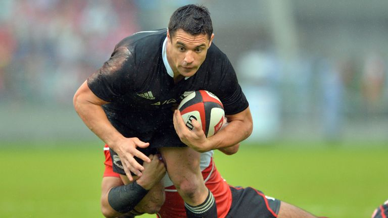 Dan Carter: Made his debut against a Wales team coached by Steve Hansen