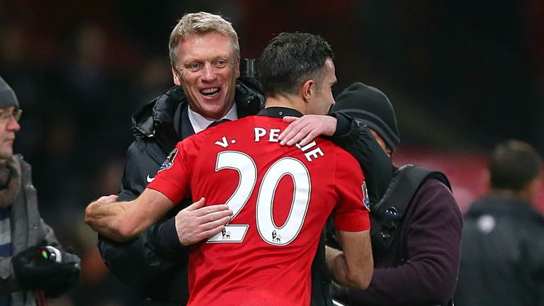 David Moyes: Manchester United boss backed by Robin van Persie