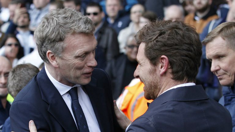 Andre Villas-Boas believes David Moyes will come through tough spell