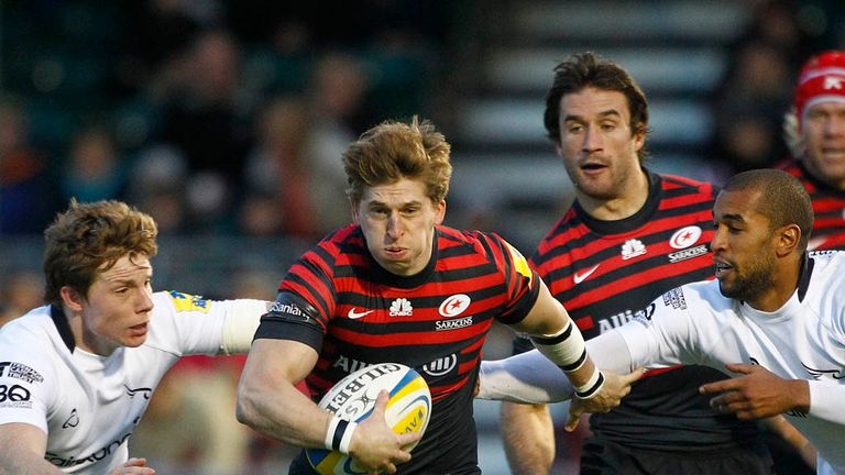 David Strettle: Returns to the Saracens side after shaking off a knock