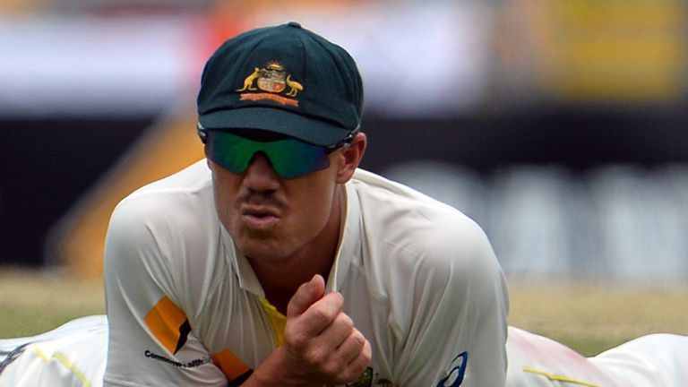 David Warner: Wishes Jonathan Trott a speedy recovery