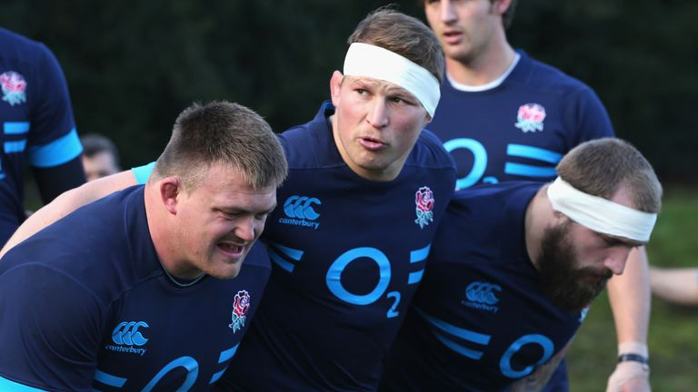 All change for England in the front row