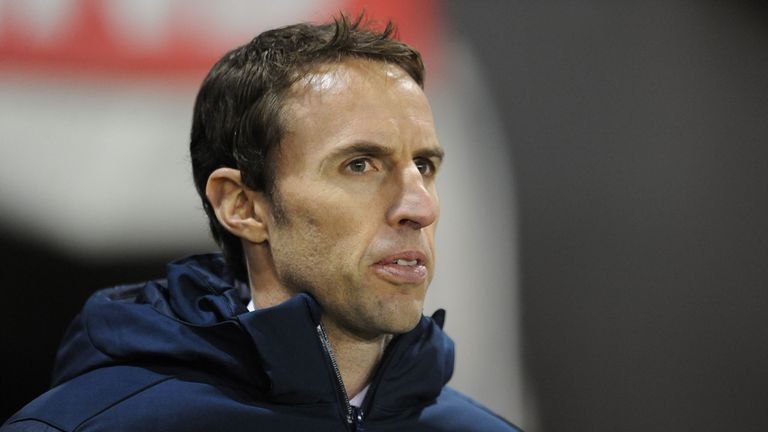 Gareth Southgate: Watches on as his players impress