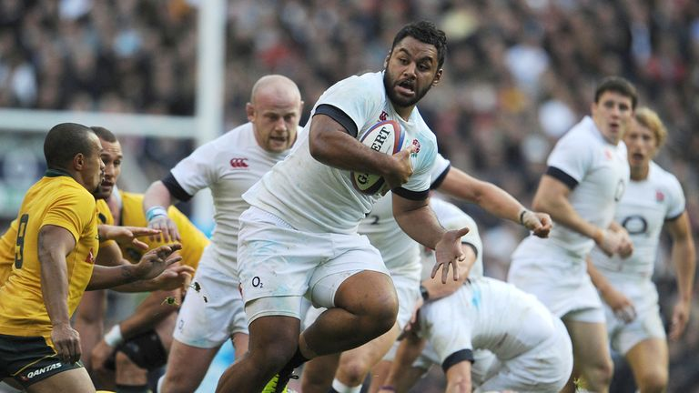 Billy Vunipola: carried well for England