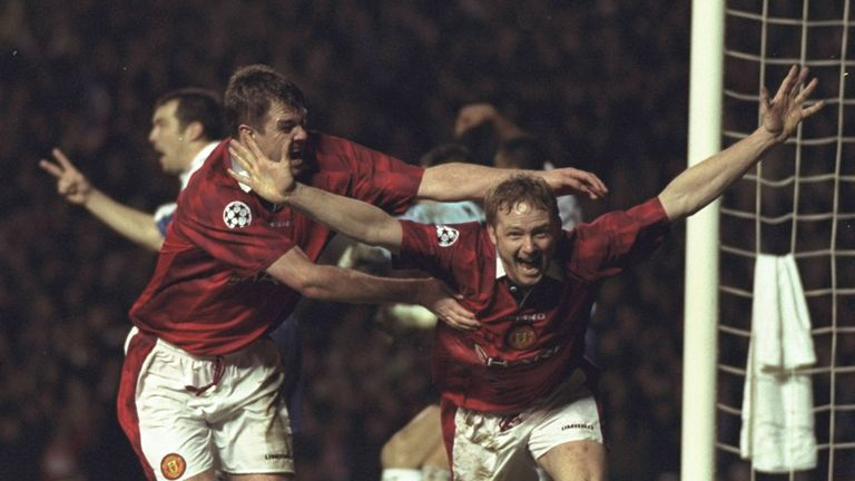 Gary Pallister and David May: The pair enjoyed fine careers with Manchester United