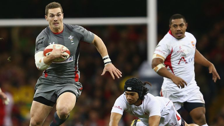 George North: Has been released to play for Wales on Saturday