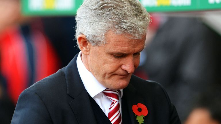 Mark Hughes thankful for keeper Asmir Begovic's freak opening goal