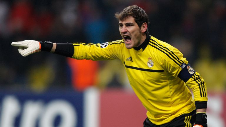 Iker Casillas: Has slipped down the pecking order at Real Madrid