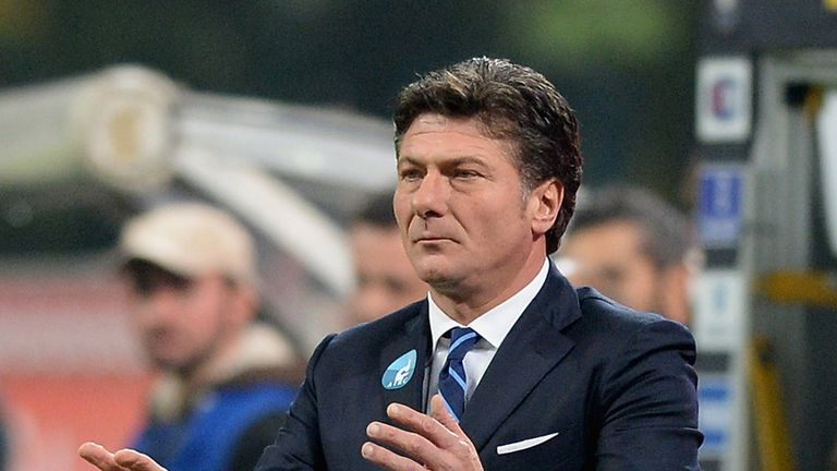 Walter Mazzarri: Celebrated goal