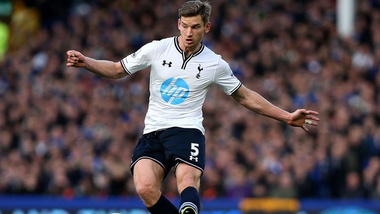 Jan Vertonghen: Future uncertain if Spurs fail to finish in top four