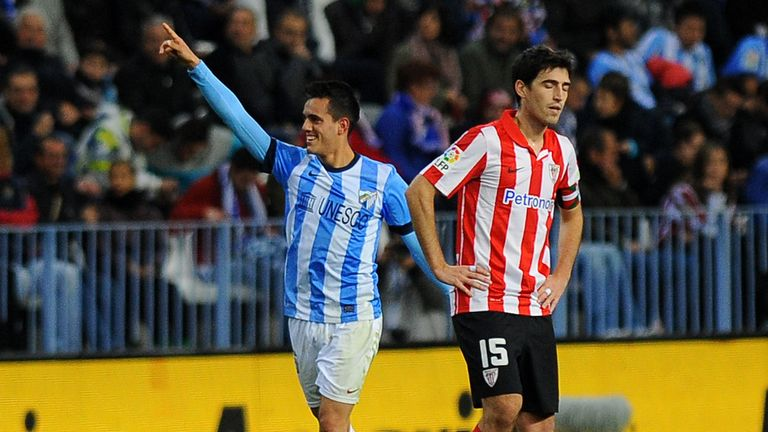 Juanmi gave Malaga an early advantage