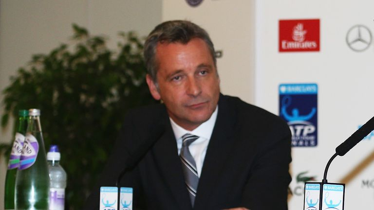 Chris Kermode was the unanimous choice of the ATP board