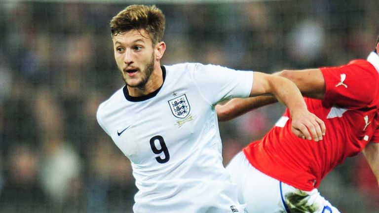 Adam Lallana: Enjoyed his debut for England against Chile