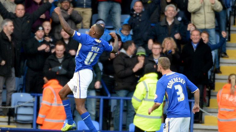 Lloyd Dyer: Opened the scoring for Leicester