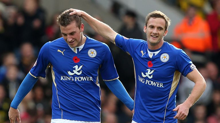 Leicester: put three past Watford to move up to second in the Championship