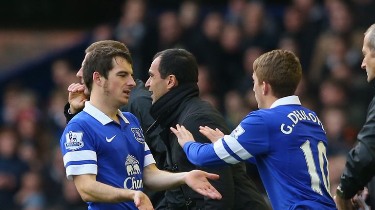 Leighton Baines: Was replaced by Deulofeu in the Merseyside derby
