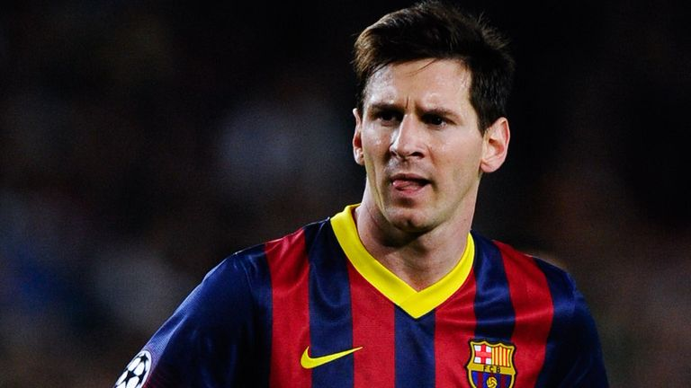 Lionel Messi: Limped out of the win over Real Betis