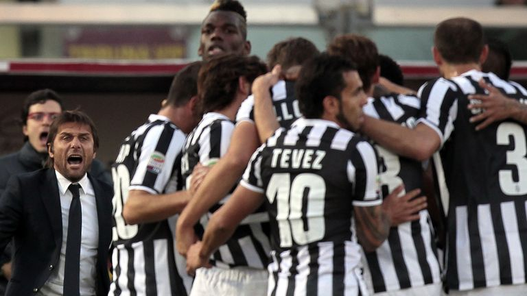 Juventus: Eight points clear with six games to go
