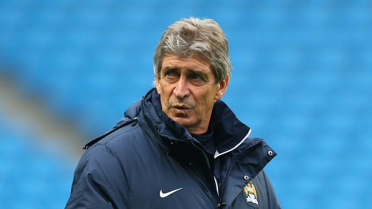 Manuel Pellegrini: Delighted with Manchester City's performance