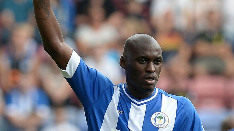 Marc-Antoine Fortune: Joined Wigan on a free transfer