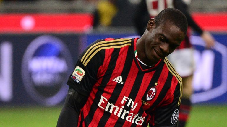 Mario Balotelli's AC Milan are the visitors at Parkhead on Tuesday evening
