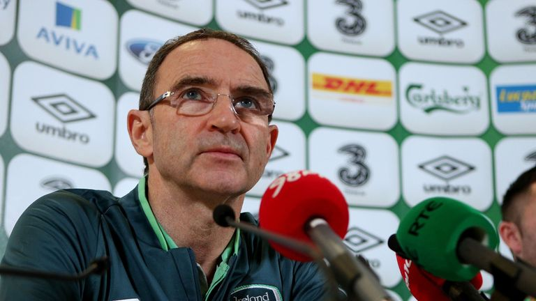 Martin O'Neill: Has warned James McClean about his use of Twitter