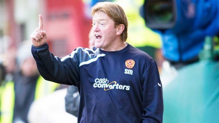 Stuart McCall says Dundee United put in the best performance of any side that have visited Fir Park during his tenure