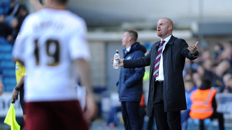 Sean Dyche: Says Millwall didn't make it easy for his side