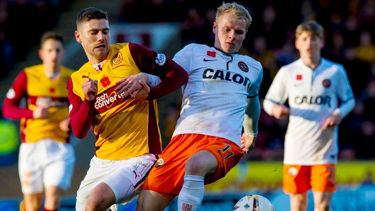 Gary Mackay-Steven: In action against Motherwell last weekend