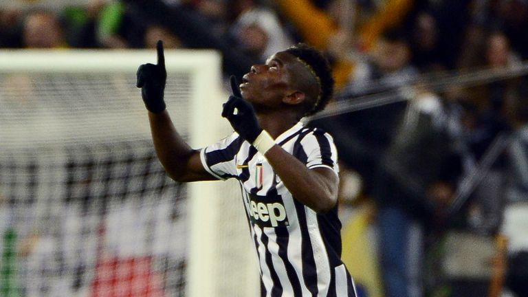 Paul Pogba: The midfielder is relaxed about a new Juventus deal