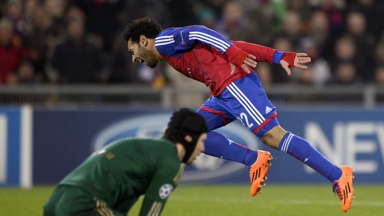 Mohamed Salah: Fires winner for Basel but Chelsea are still through