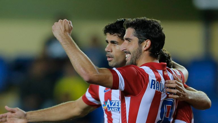 Raul Garcia: Scored Atletico's second of the night