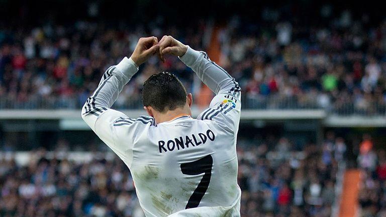 Cristiano Ronaldo: Celebrates in style