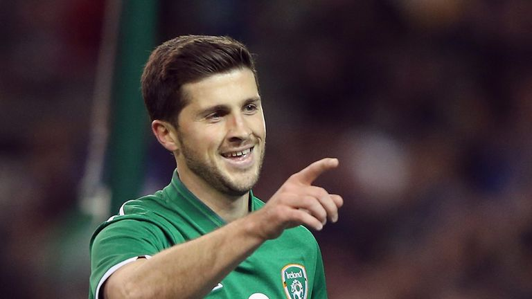 Shane Long: Netted Ireland's third goal in the friendly win over Latvia