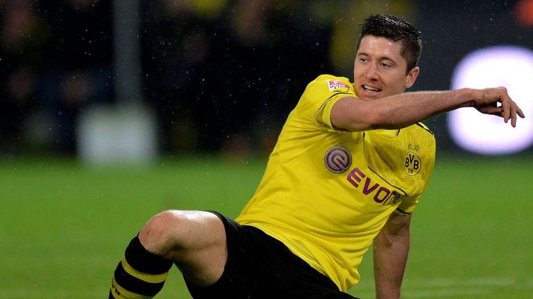 Robert Lewandowski: Borussia Dortmund striker can leave on a free transfer in the summer