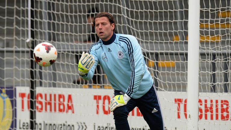 Roman Weidenfeller: Hoping for Germany debut