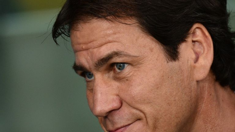 Rudi Garcia: Pleased with Roma's season